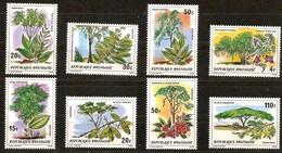 Rwanda Ruanda 1979 OCBn° 919-926 *** MNH Cote 6,25 Euro Arbres Et Arbustes Bomen Trees - 1970-79: Nuevos