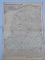 Carte De La Guerre 14/18- Les Provinces BALTIQUES De La Russie - Other