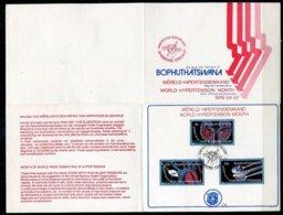 Bophuthatswana Mi# 22-4 First Day Card - Health, Blood Presure - Bophuthatswana
