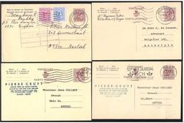 Belgio/Belgium/Belgique: Intero, Stationery, Entier, 8 Pièces, 8 Pieces, 8 Pezzi - Stamped Stationery