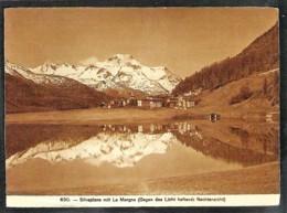 SILVAPLANA Mit La Margna HOLD TO LIGHT Card - GR Grisons