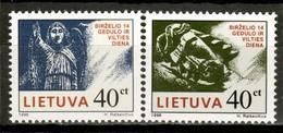 Lithuania 1996 Lituania / Soviet Deportations To Siberia MNH Deportaciones Soviéticas A Siberia / Ks15  36-40 - Lituania