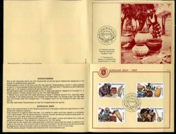 Bophuthatswana Mi# 37-40 First Day Card - Beer Production - Bophuthatswana