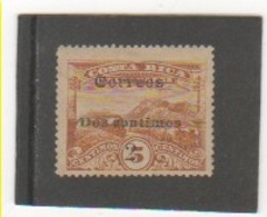 COSTA RICA 1911 YT N° 87 Neuf* Trace De Charnière - Costa Rica