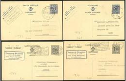 Belgio/Belgium/Belgique: Intero, Stationery, Entier, 7 Pièces, 7 Pieces, 7 Pezzi - Stamped Stationery
