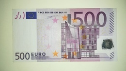 EURO-FINLAND 500 EURO (L) D001 Sign DUISENBERG - 500 Euro