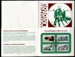 Bophuthatswana Mi# 51-4 First Day Card - Agriculture - Bophuthatswana