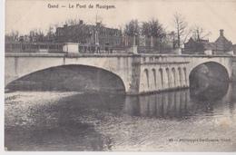 GENT GAND - LE PONT DE ROOIGEM -1908 - Gent