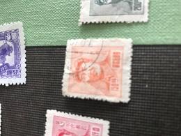 CINA MAO Arancione 1 VALORE - Stamps