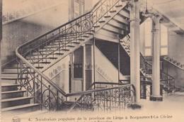 Liege Sanatorium Populaire De La Province De Liege A Borgoumont La Gleize Le Grand Escalier - Belgique