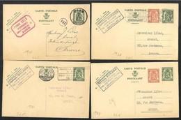 Belgio/Belgium/Belgique: Intero, Stationery, Entier, 5 Pièces, 5 Pieces, 5 Pezzi - Stamped Stationery
