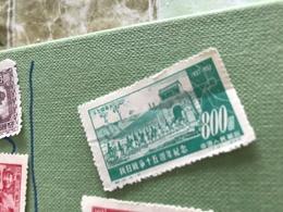 CINA CAVALIERI VERDE 1 VALORE - Stamps