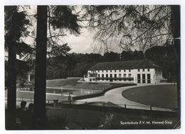 Sportschule F.V. M. Hennef-Sieg 1961 Postkarte Ansichtskarte - Hennef