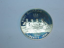 ESTADOS UNIDOS/USA 1 DOLAR 1996 P, OLIMPIADAS, PROOF, KM 272 (5790) - Federal Issues