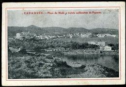 Cadaques Playa De Moda A Treinta Quilometros De Figueras Hotel Cabo Creus - Visiting Cards
