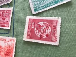 CINA IL MONDO ROSSO 1 VALORE - Stamps