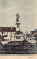 Poland - WARSZAWA - Adam Mickiewicz Monument - Publ. Unknown - Polonia