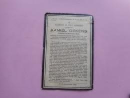 D.P.-KAMIEL DEKENS°NAZARETH 30-3-1843+GENT 25-7-1923 - Religion & Esotérisme