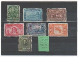 COSTA RICA 1923-26 YT N° 118 à 124 Neuf* Et Oblitéré - Costa Rica