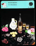 """ROSPORDEN - Le Chouchenn - Photo Pichet Et Bouteille """"Hydromel René Gall"""" - FICHE GEOGRAPHIQUE - Ed. Larousse-Laffont - Autres Bouteilles"""