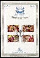 Bophuthatswana Mi# 120-3 First Day Sheet - The Lord's Passion, Easter Stamps - Bophuthatswana