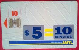 Uruguay $5=10 Minutes Call - Uruguay