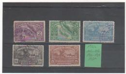 COSTA RICA 1924 YT N° Entre 127 Et 132 Neuf* Et Oblitéré - Costa Rica