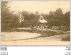 27 CESSEVILLE. La Mare Et Lavoir Avec Vaches - Frankrijk