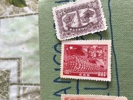 CINA ARMATA POPOLARE ROSSO 1 VALORE - Stamps