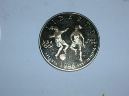 ESTADOS UNIDOS/USA 1/2 DOLAR 1996 S, OLIMPIADAS, PROOF, KM 271(5796) - Federal Issues