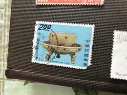 CINA ARTE CERAMICA 1 VALORE - Stamps