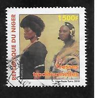 TIMBRE OBLITERE DU NIGER DE 2010 N° MICHEL 2014 - Niger (1960-...)