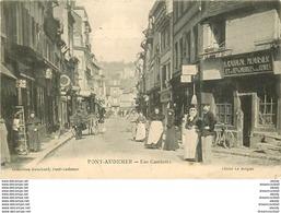 WW 27 PONT-AUDEMER. Menuisier Cahagne Rue Gambetta 1906 - Pont Audemer