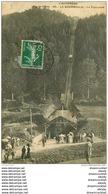 63 LA BOURBOULE. Le Funiculaire 1912 (trace Fumée)... - La Bourboule