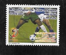 TIMBRE OBLITERE DE COTE D'IVOIRE DE 2001 N° MICHEL1279 - Ivory Coast (1960-...)