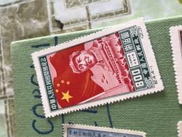 CINA GRANDE MURAGLIA E MAO 1 VALORE - Stamps