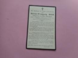D.P.-XAVIER-FRANCOIS DICK °NAZARETH 2-1-1852+30-10-1910 - Godsdienst & Esoterisme