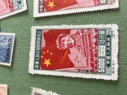 CINA MAO E GRANDE MURAGLIA  1 VALORE - Stamps