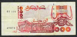ALGERIA P140 1000 DINARS 1992  VF   NO P.h. ! - Algerije