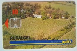 10 Units Uruguay Ruralcel - Uruguay