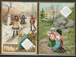Vieux Papiers Image Chromos Scénes De Vie D'enfants - Sois Tranquille Où J'appelle Le Croquemitaine - Suite... - Old Paper