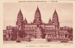 Exposition Coloniale Internationale Paris 1931, Angkor Vat, Façade Principale (pk69545) - Exposiciones