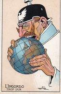 L'INGORDO- Illustratore GOLIA - NON VIAGGIATA - Humoristiques