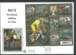 Enveloppe FDC Bloc F4755 Tour De France 2013 - Oblitérés