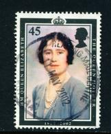 GREAT BRITAIN  -  2002 Queen Mother 45p Used As Scan - Gebruikt