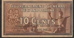 FAKE*FALSE*FAUX *FRENCH INDOCHINA P85c 10 CENTS ND  # BG FALSE *FAUX *FAUX *PERFECT IMITATION ! ! !  UNC. - Indochina
