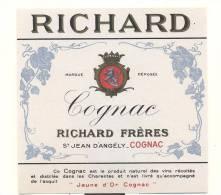 Etiquette De  Cognac  -   Richard - Etichette