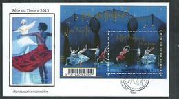Enveloppe FDC Bloc F4987 Fête Du Timbre Ballet Preljocaj - Oblitérés