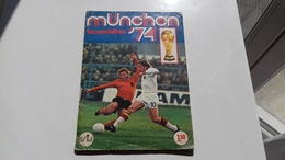 ALBUM MUNCHEN 74 / VANDERHOUT / STYLE PANINI / COMPLET/ BE - Trading Cards