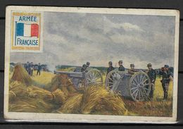Vieux Papiers Image Chromos Armée Française - Magasin Georges Ganuchaud Nantes 5, Rue Crébillon - Old Paper